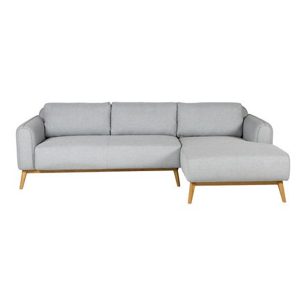 Sofa Tapizado De 5 Plazas Con Chaise Longue Derecho Green El Corte