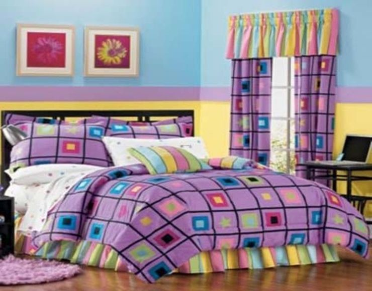 Inspiring Girls Bedroom Ideas Blue And Purple Pictures - Best ...