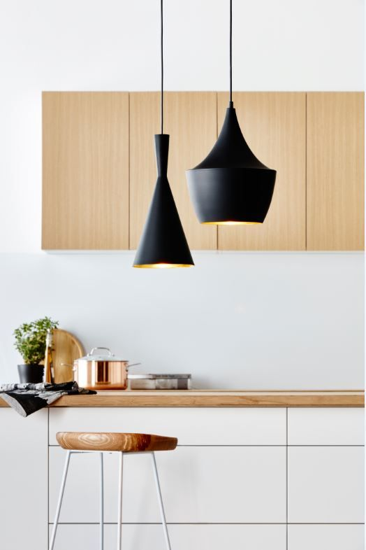 Verve Design 60W White Metal Dome Pendant Light