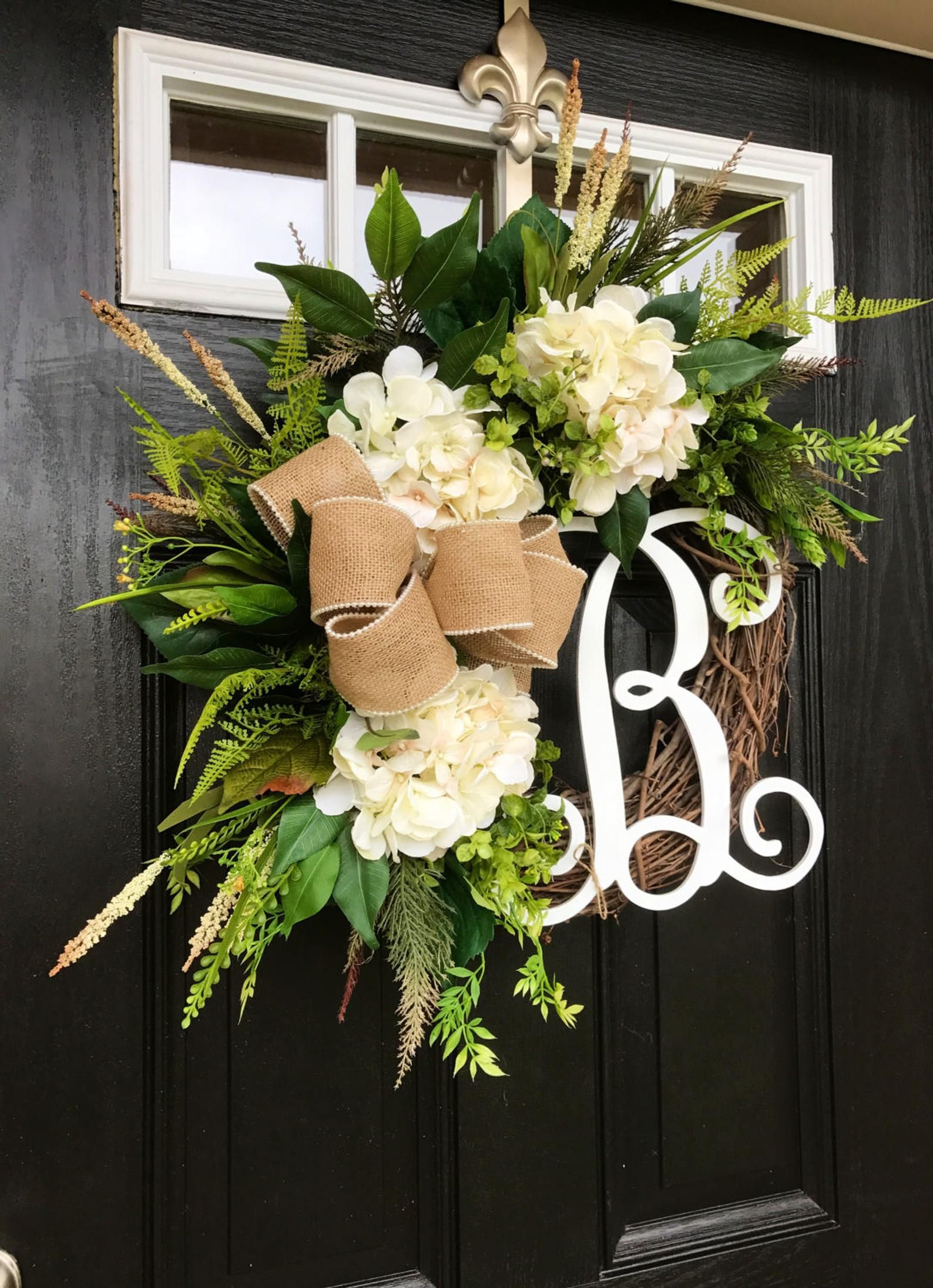 BEST SELLER! Spring Wreaths for Front Door, Front Door