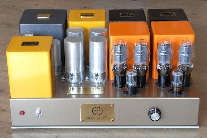 Power Integrated tube Amp 2A3 PushPull by Atelier du Triode