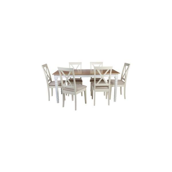 Buy Heart Of House Ellingham Dining Table And 6 Chairs At Argoscouk