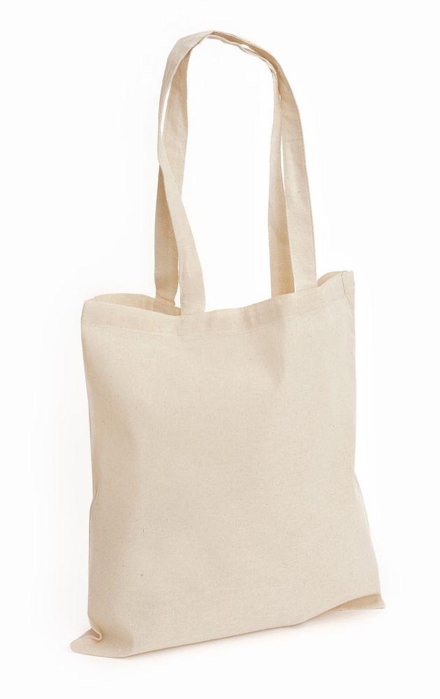 ae442c5455f Details about 10 Natural 100% Cotton Eco Plain Promotional Shoulder ...