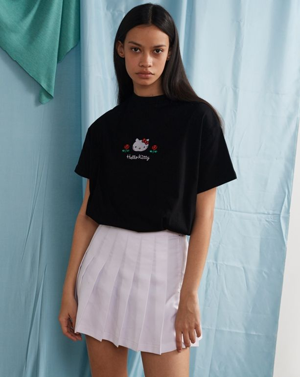 bc0c50a9a Hello Kitty x Lazy Oaf Oversized T-shirt - Everything - Categories - Womens