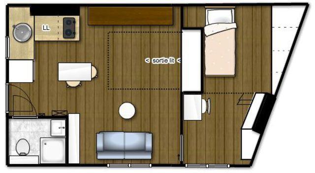 Appartement Paris 19  rénovation d\u0027un 30 m2 pour une famille