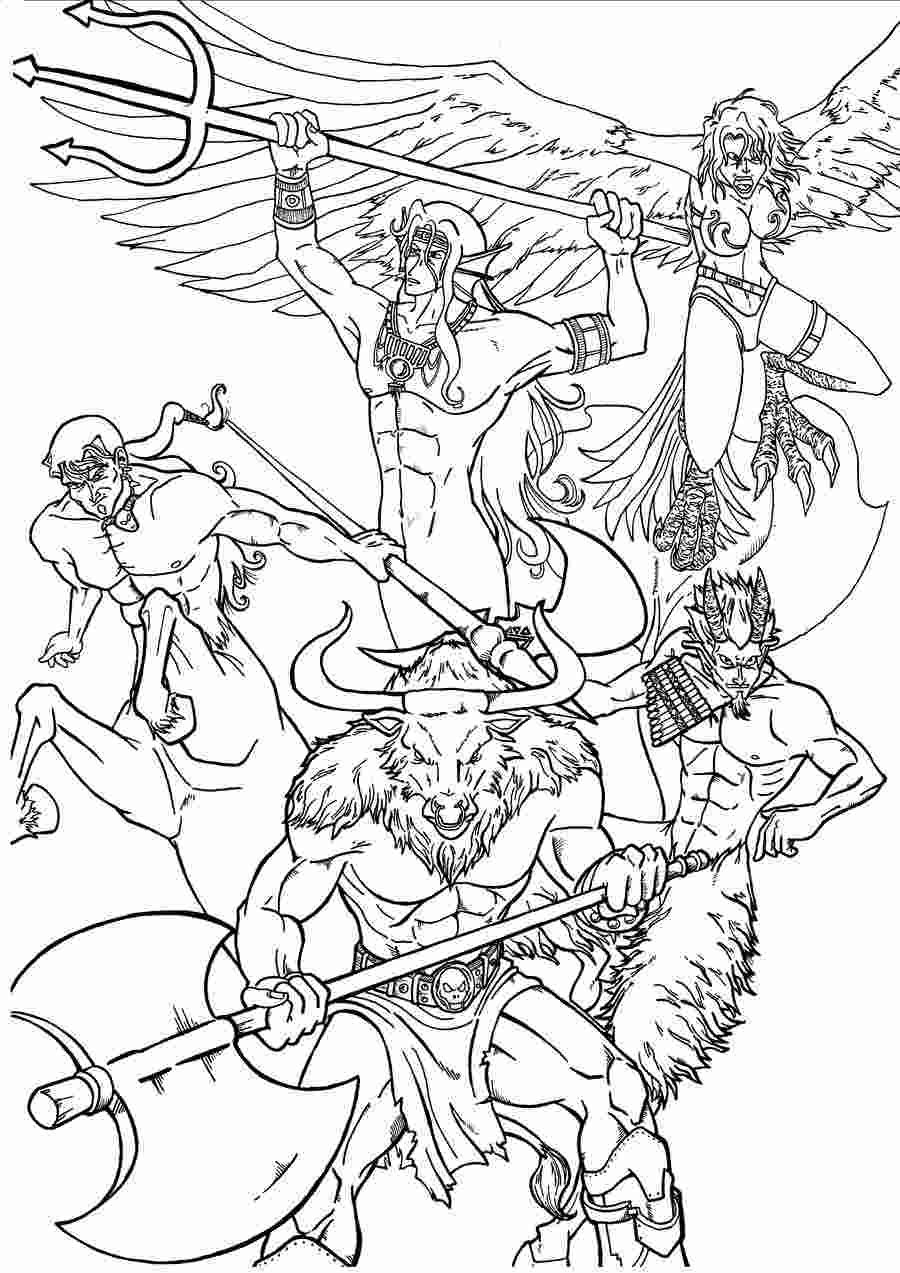 Coloring Book Coloring Pages Greek God More Than 65 Amazing