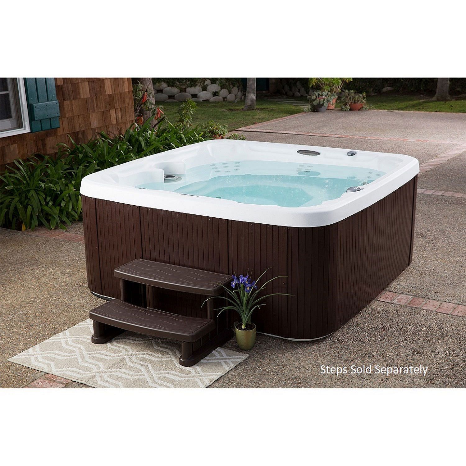 Lifesmart Ls600dx 7 Person 65 Jet Spa Sam S Club Spa Hot Tubs Inflatable Hot Tubs Hot Tub