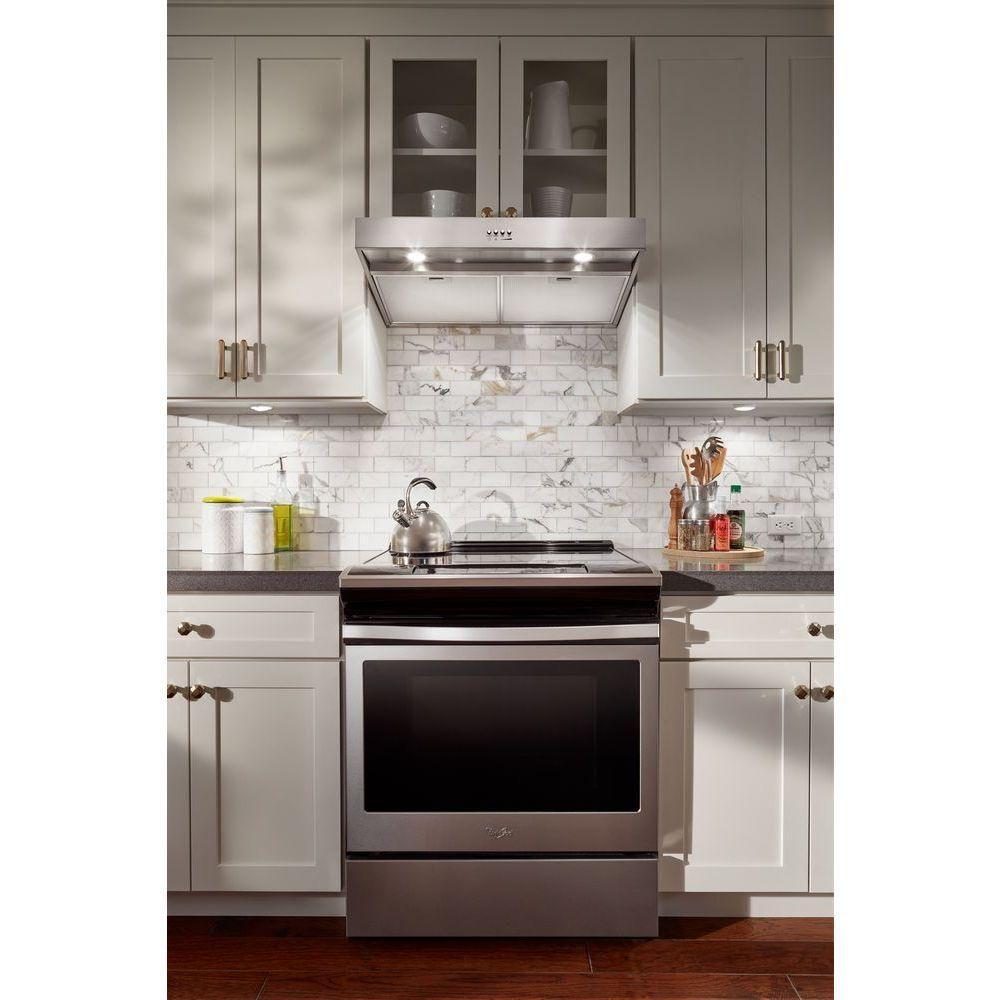 Best Whirlpool 30 In Under Cabinet Range Hood In Stainless 640 x 480