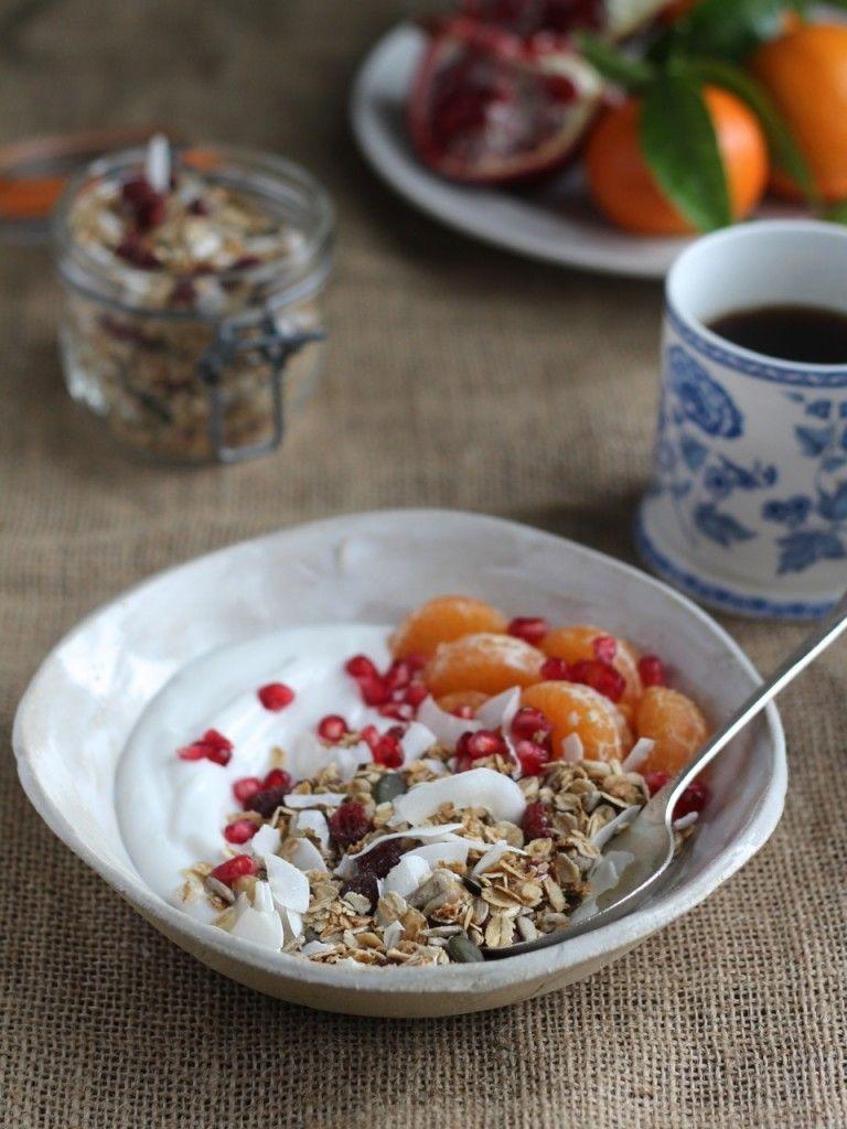 Low sugar granola | gluten free | Healthy | natural kitchen adventures
