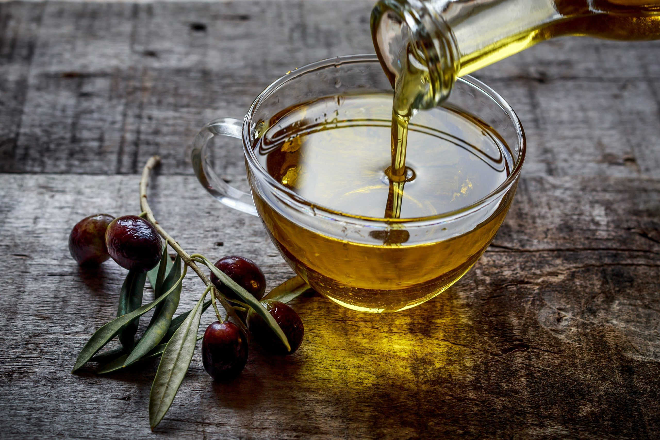 Heilmittel mit Olivenöl zur Gewichtsreduktion
