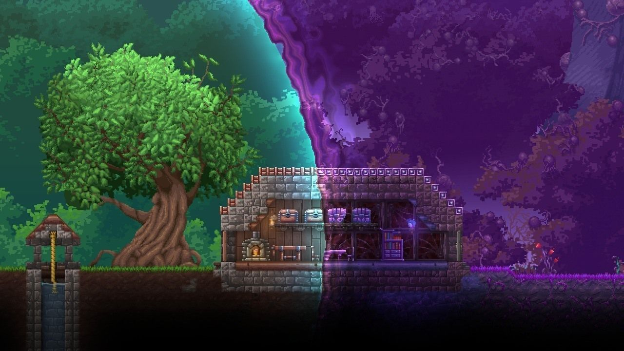 Terraria Otherworld Officially Cancelled Ign News Terraria