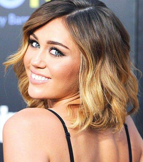 Miley Cyrus Short Hair Ombre Best Short Hair Styles
