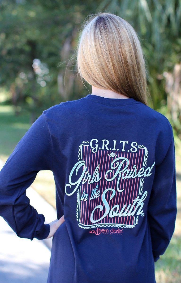 Southern darlin' - G.R.I.T.S Long Sleeve Tee