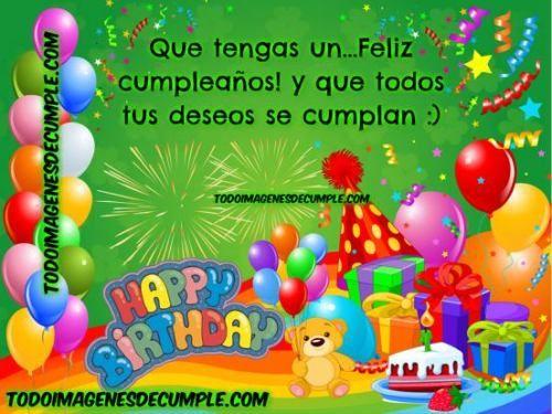 Mensajes De Cumpleaños Para Descargar Postales de Saludos Feliz http  enviarpostales net