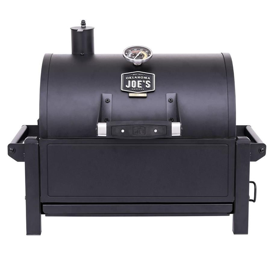 Dyna Glo Portable Tabletop Charcoal Grill And Side Firebox