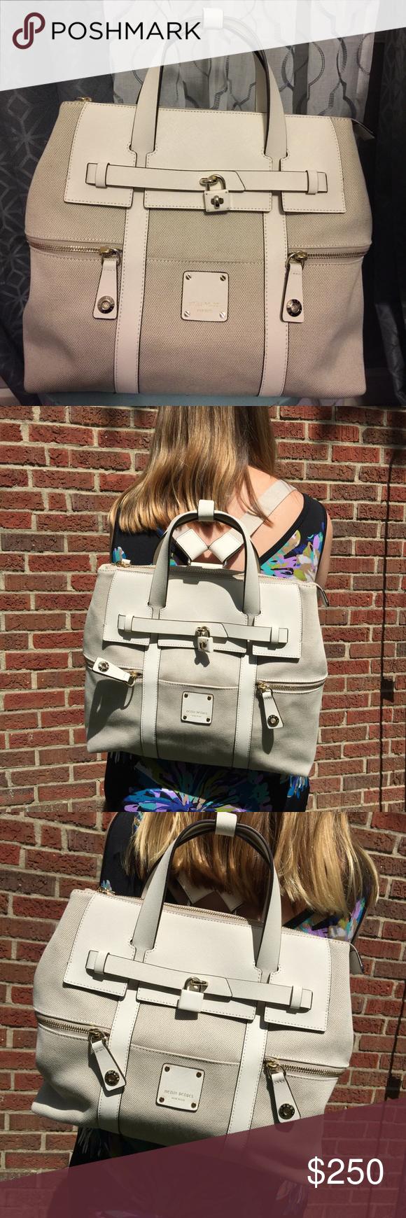 9c813fcf1 ❗️FINAL PRICE❗️Henri Bendel Jetsetter Backpack ❗️FINAL PRICE-PRICE FIRM❗️Henri  Bendel Canvas Jetsetter Convertible Backpack in color Sea Salt. Bag ...
