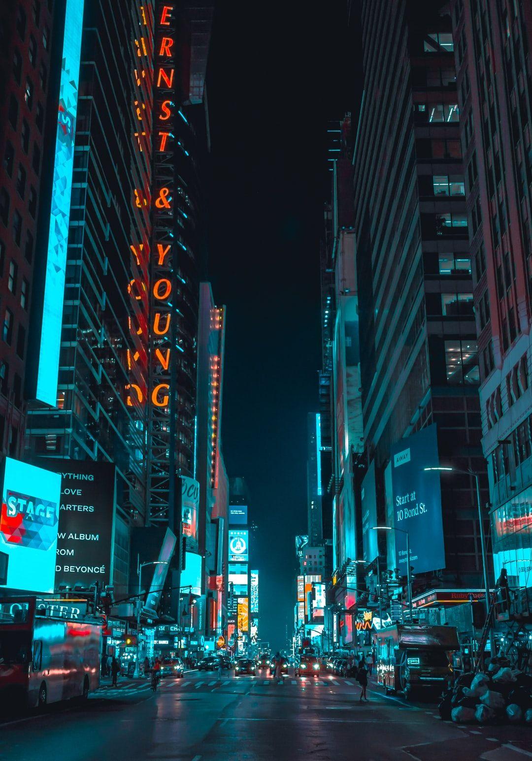 New York City Times Square Street Photography Of Street Photography Of Vehicles Traveling On Road City Lights Wallpaper Neon Wallpaper City Wallpaper