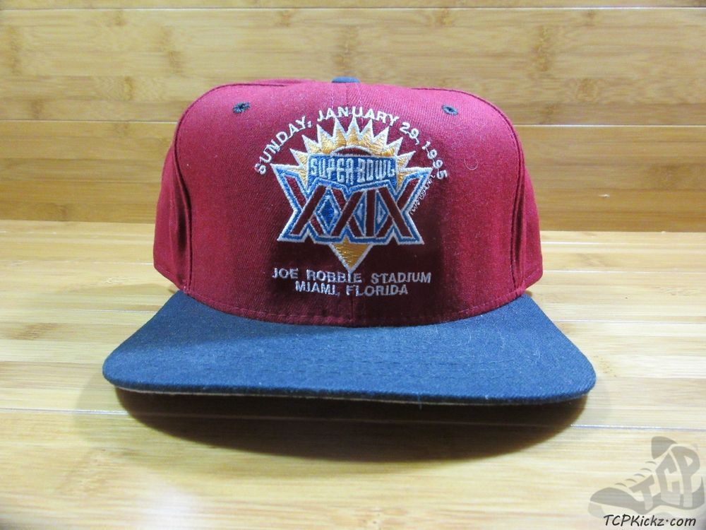 Vtg 90s New Era SUPER BOWL XXIX 29 San Francisco 49ers SNAP Back Hat ONE  SIZE  NewEra  SanFrancisco49ers  tcpkickz 3c5426959
