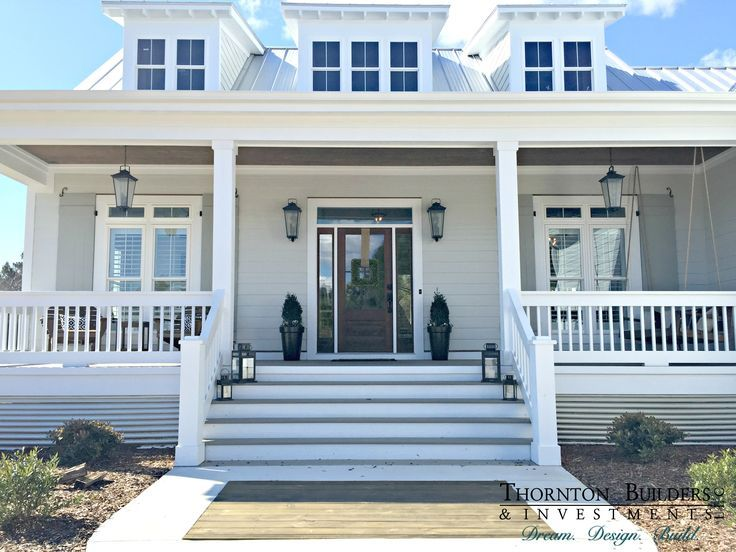 The Modern Farmhouse By Thornton Builders In North Carolina This Really Is My Dream Home I Love Everything About Inside And Outside