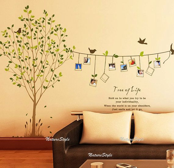 Customer listing for Amy -Vinyl Wall Decal,Sticker,Nature Design ...