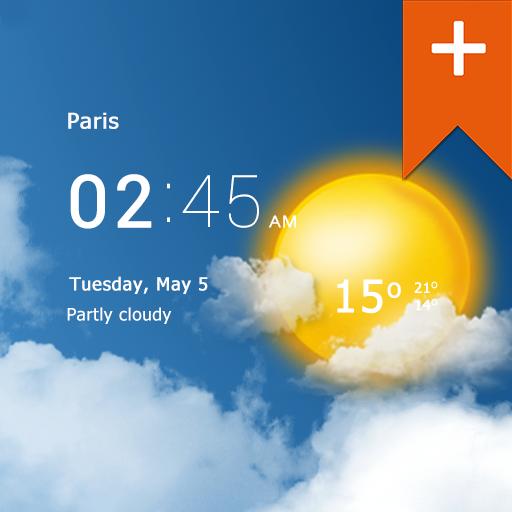 Transparent clock weather Pro MOD APK Free Download Latest