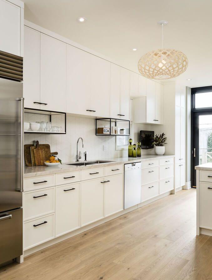 residential interior design | Transitional kitchen design ...