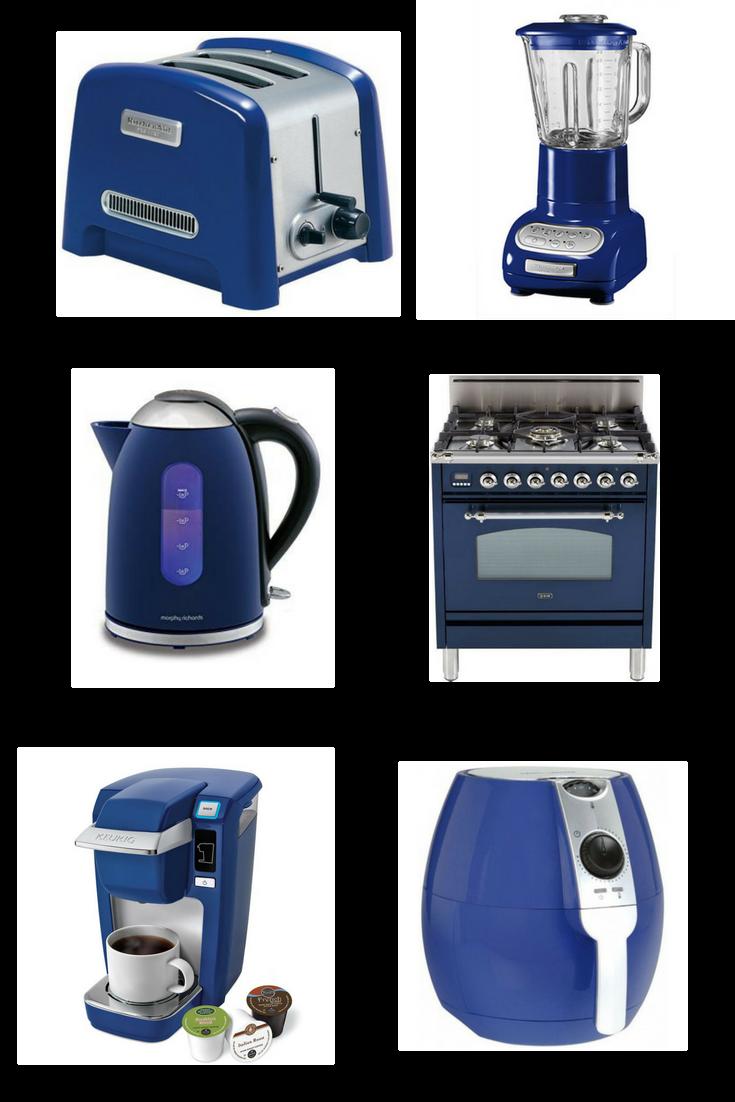 Blue kitchen appliances  Blue kitchen accessories in 2019
