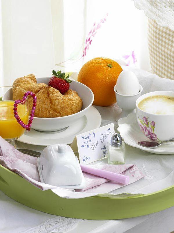 Frühstückstablett muttertag frühstückstablett