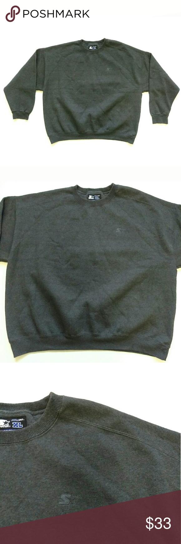 Starter Pro80 Heavyweight Crewneck Sweatshirt You Are Buying Vintage Starter Pro80 Heavyweight C Pullover Sweater Sweatshirts Sweatshirts Crew Neck Sweatshirt [ 1740 x 580 Pixel ]