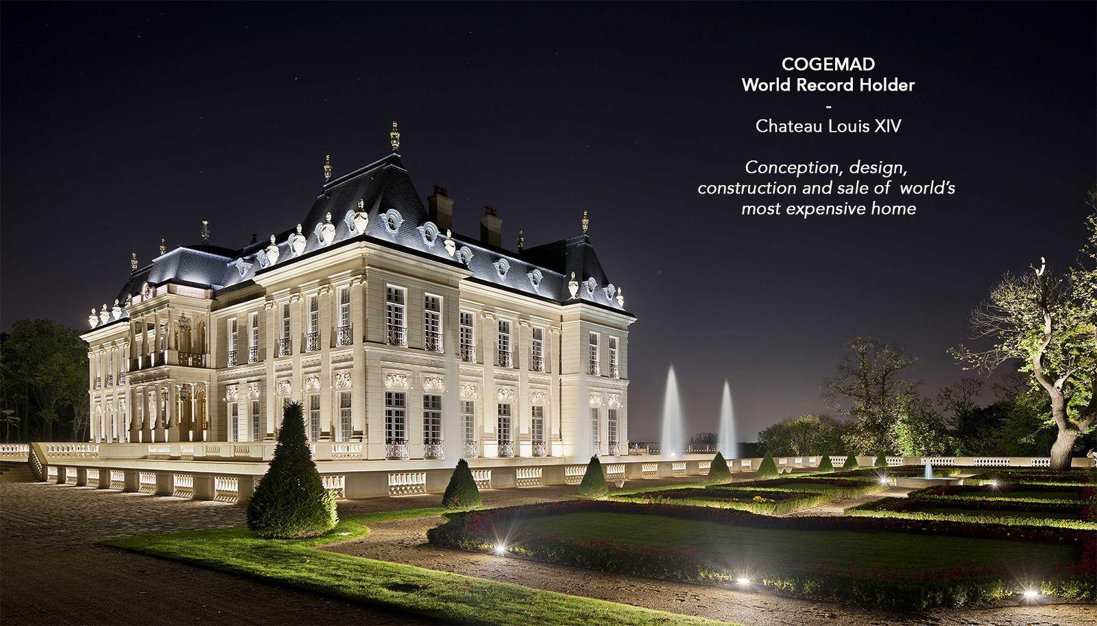 Ch teau louis xiv france cogemad demeures et for Chateau louis 14 louveciennes