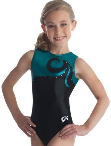 0b30c996f0e3 Blue and Black gymnastics suit