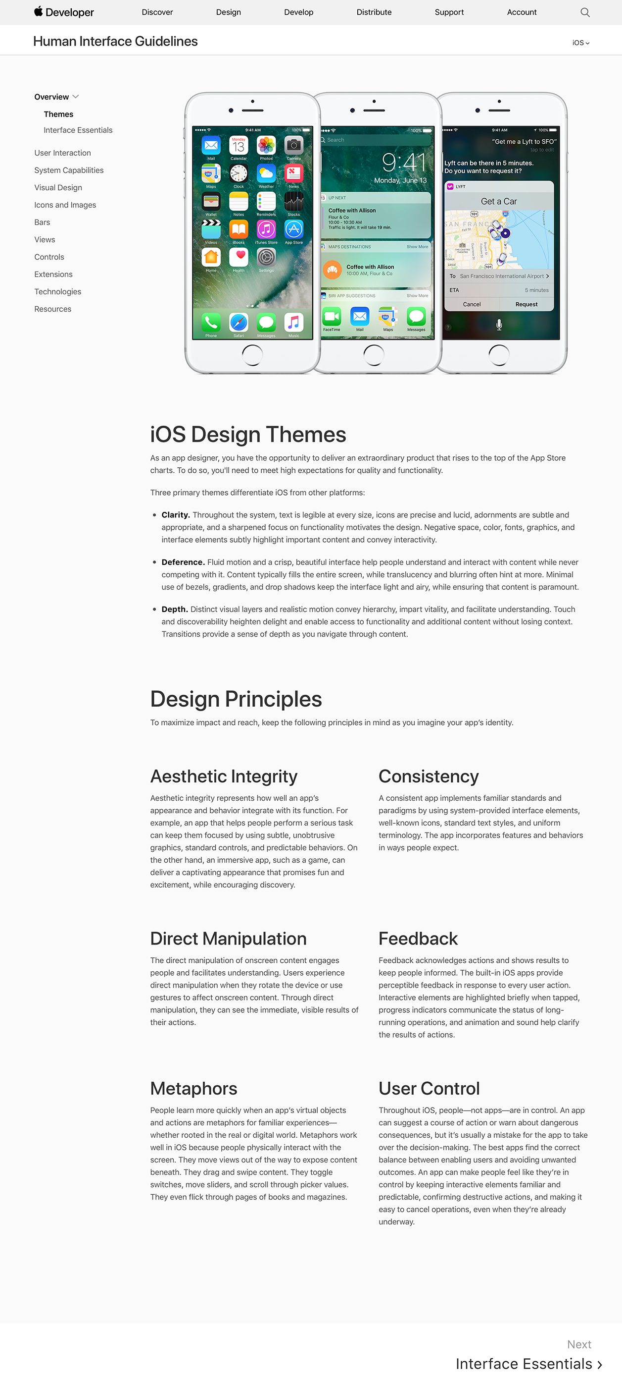 """Apple deleted the """"Design Principles"""" from its Human"""