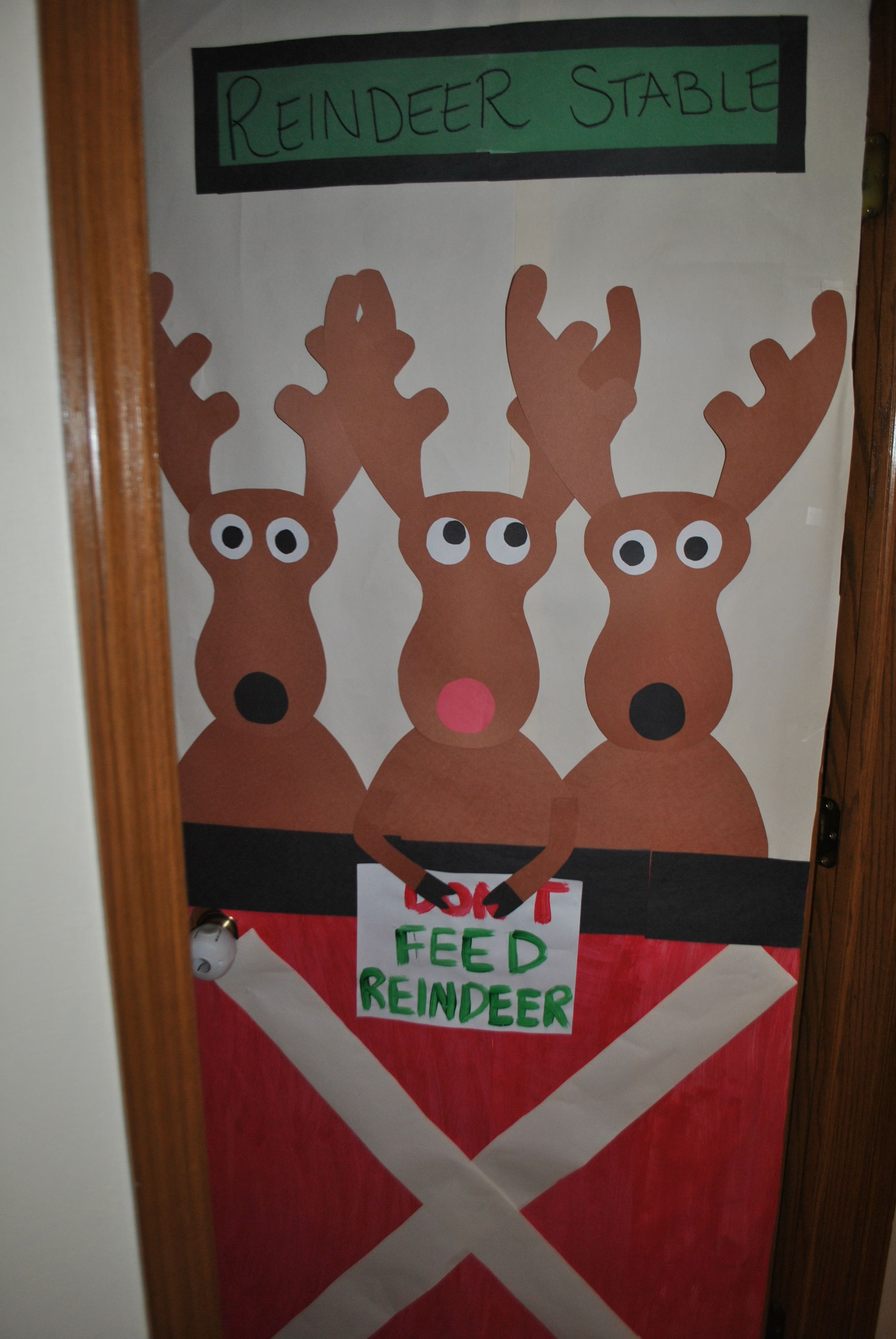 Christmas decoration for the classroom