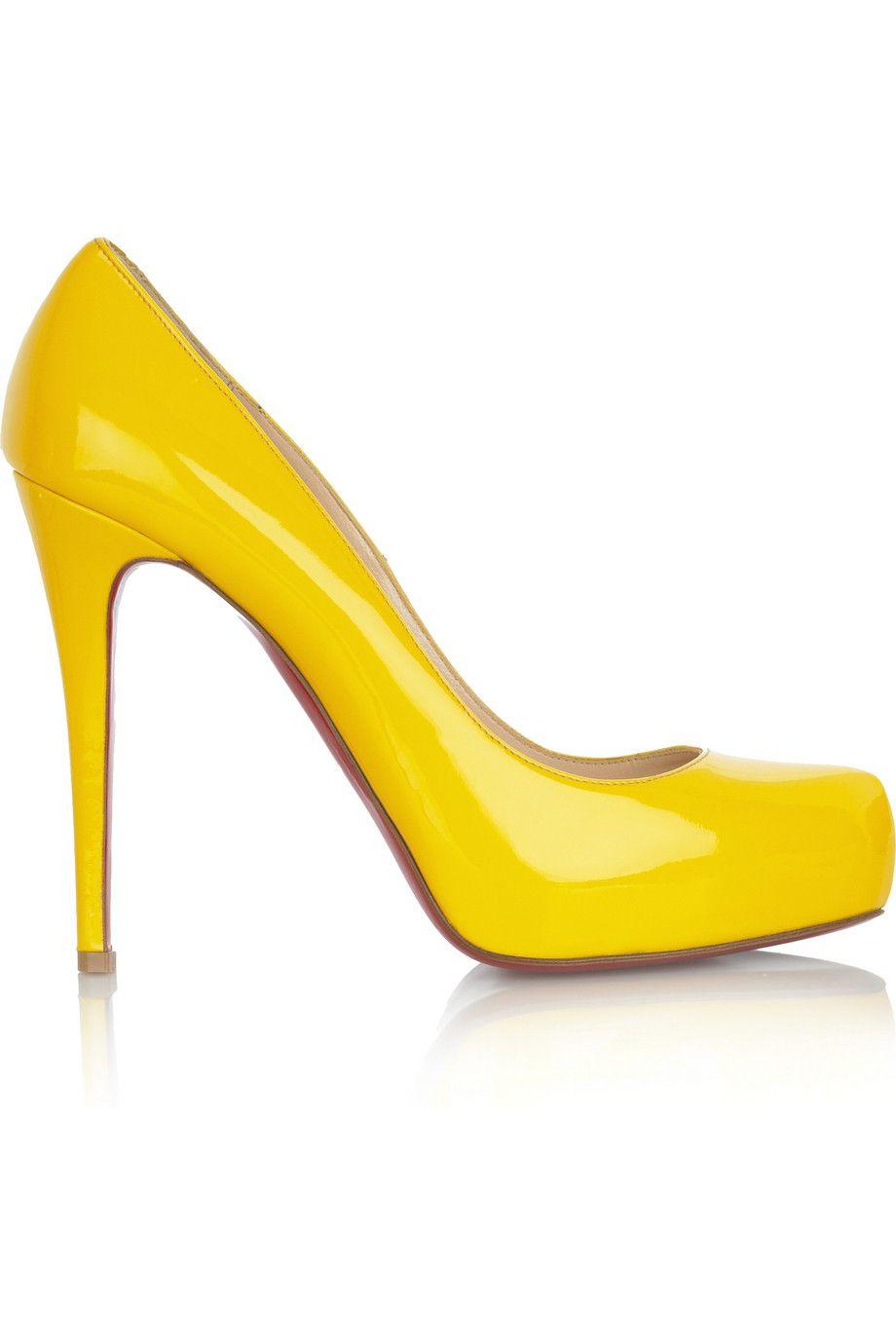le dernier 538ad 0001d Escarpin jaune
