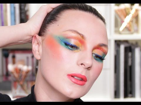 70 S 80 S Make Up Pixiwoo Youtube Bold Makeup Makeup Makeup Videos