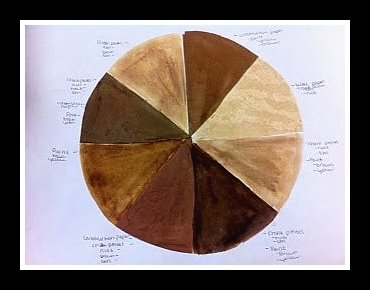 Sepia Color Wheel Website Has Lots Of Cool Themed Lessons