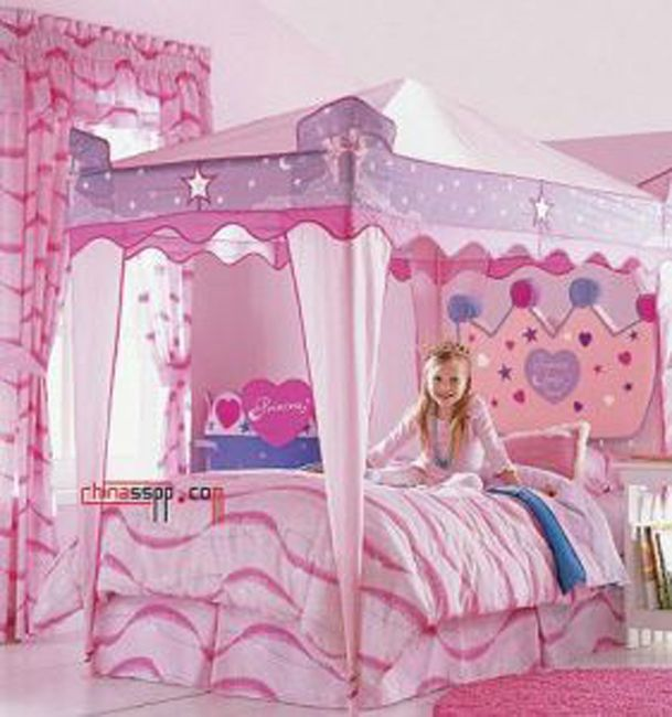 Disney princess bedrooms ideas disney princess themed for Princess style bedroom furniture