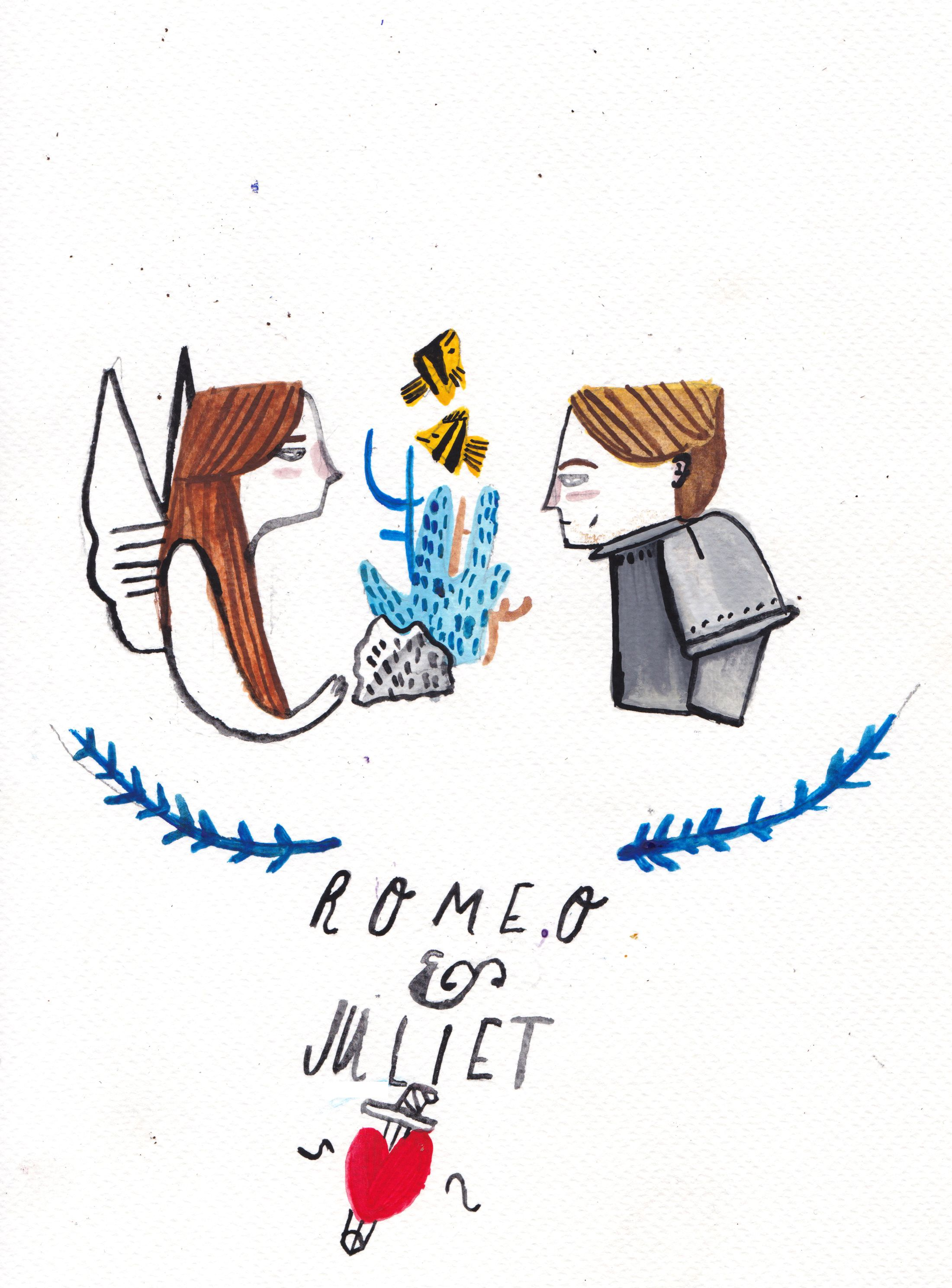 Romeo and Juliet by Dick Vincent Illustrations