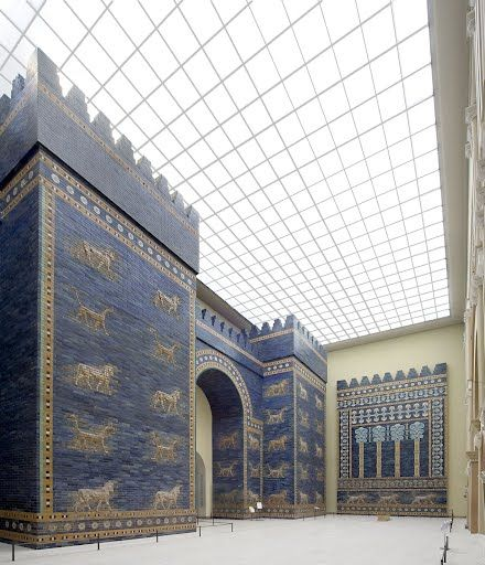 Ishtar Gate From Babylon Unknown Google Arts Culture Berlin Museum Ischtar Tor