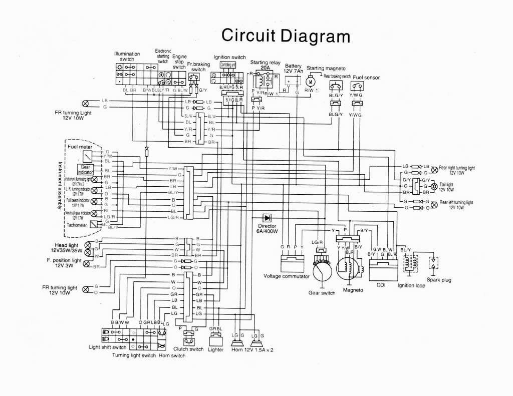 Wiring Diagram Ktm Duke 125