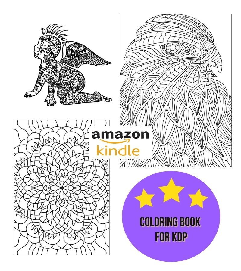 Derain197 I Will Create 30 Pages Coloring Book And Cover For Kdp In 24 Hours For 10 On Fiverr Com Coloring Books Book Design Color