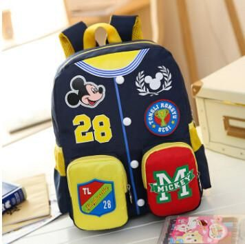05d8e3c6b98 Minnie Mouse Backpack For Boys Girls Schoolbag Teenagers Cartoon Print Children  School Bag Students Children School bag