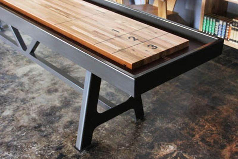 Amazing District MFG Shuffleboard Table   A High End, Fancy Shuffleboard .