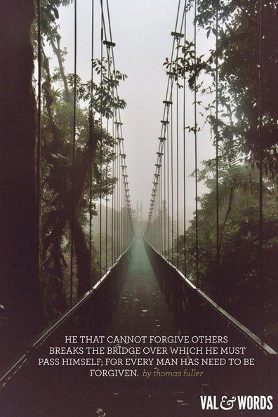 Bridge the chasm