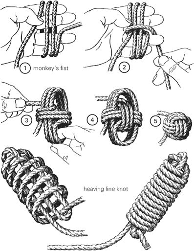 Monkey's Fist & Heaving Line Knot