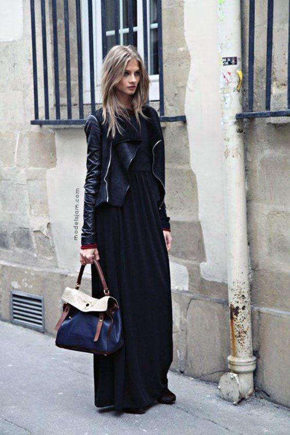 sale retailer 57c20 8cd0d abito lungo d'inverno   moda nel 2019   Stile di moda ...