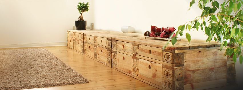 lowboard tv board wei lackiert paletten m bel smash. Black Bedroom Furniture Sets. Home Design Ideas
