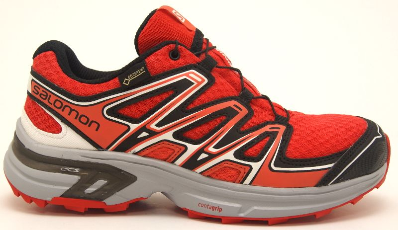 Salomon Wings Flyte 2 Gtx W Infrared Light Onix Coral Punch Hoka Running Shoes Coral Running Shoes