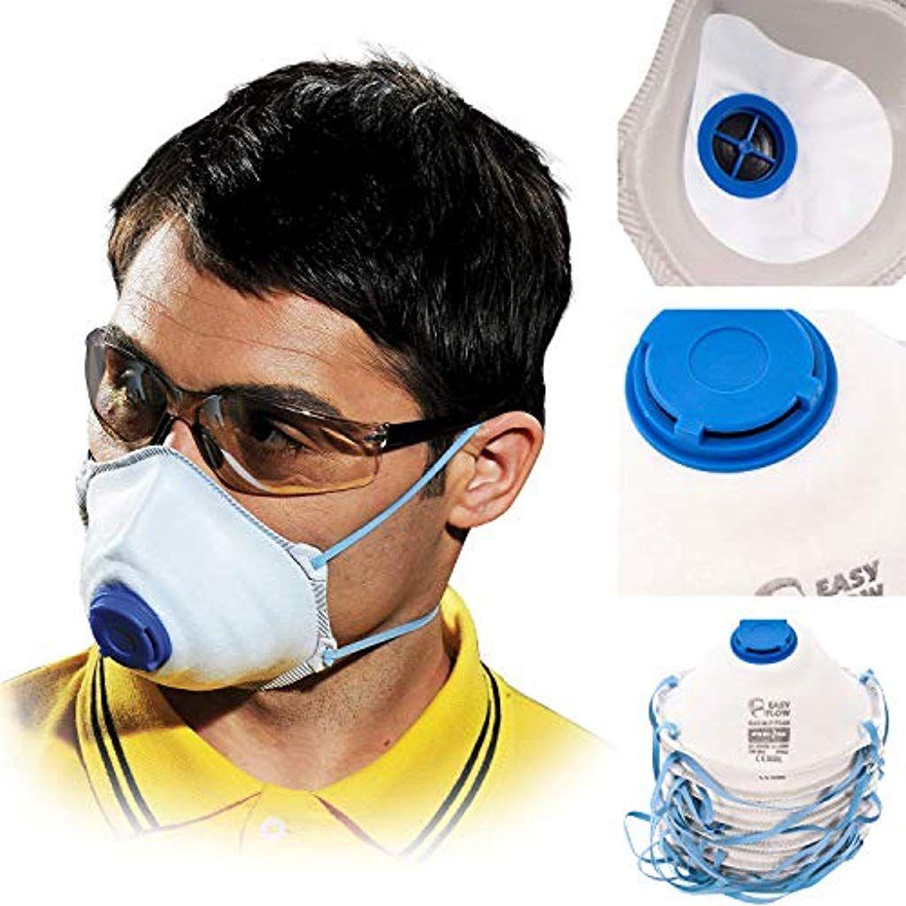 Atemschutzmaske 10 Stück Perfekt anpassbare FFP2