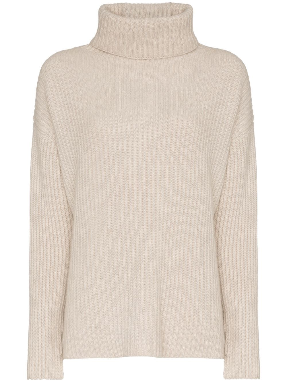 c72451cf35d722 Le Kasha lisbon cashmere roll neck jumper - Neutrals   Fashion ...
